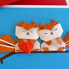 shop birthday origami card on wanelo