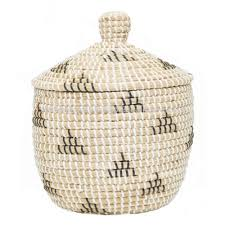 seagrass basket with plastic string weaving buy wicker storage