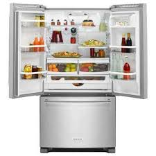 Counter Depth Stainless Steel Refrigerator French Door - kitchenaid french door refrigerators refrigerators the home