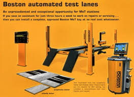 class 7 mot bay test equipment automated mot test bays boston atl class 4