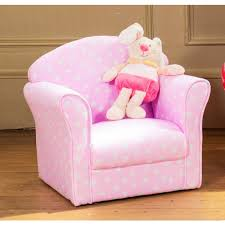 Pink Armchairs Kids Childrens Fabric Armchair Sofa Seat Stool Childrens Tub Chair