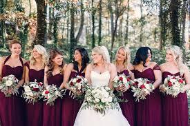 winter bridesmaid dresses bridesmaid dresses winter wedding vosoi