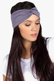 knot headband jersey twist knot headband boohoo