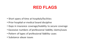 Red Flags Of Abuse Credentialing Issues And Pitfalls Joanne Gulliford Hoban Morrison