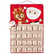 christmas countdown calendar itty bittys santa christmas countdown calendar decorative