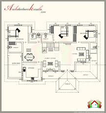 2500 sq ft floor plans 2500 square feet kerala style house plan with three bedrooms homes