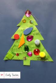 Ideas For Christmas Tree Bulletin Board by Preschool Christmas Tree Bulletin Board And Project Early Teacher