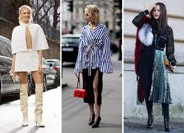 style trends 2017 paris fashion week fall 2017 street style trends street style