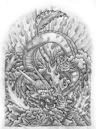 41 best beautiful dragon tattoo drawings images on pinterest