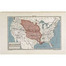 State Map Of Louisiana by Map Of The Louisiana Purchase Territory Docsteach