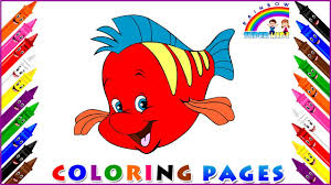 coloring page for kids how to draw and colouring finding nemo