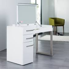 white contemporary dressing table carter dressing table white dwell