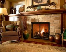 faux stone fireplace mantels interior design ideas