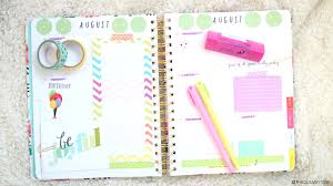 plan with me ban do agenda august weekly spread roxy james