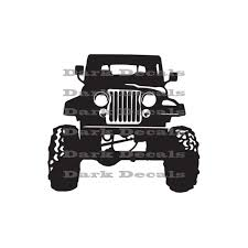 jeep decals here is an upgraded decal design of an old classic design
