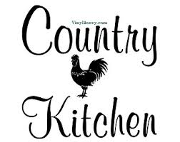 Black And White Rooster Decor Chicken Wall Decals Kitchen Wall Decals Farm Life Series