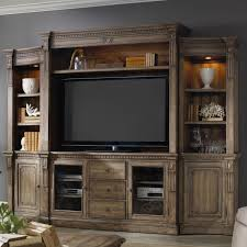 Wall Unit Furniture Hooker Furniture Sorella 4 Piece Wall Unit With Touch Lighting And