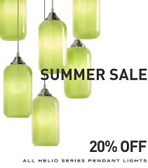 Green Glass Pendant Light This Summer S Modern Pendant Lighting Sale Is Happening Now