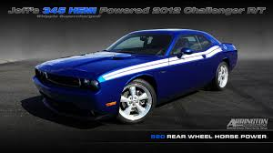Dodge Challenger Jazz Blue - arrington performance 345 hemi powered whipple 2 9l supercharged