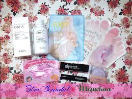 Toner Mizu mizuchan a kbeauty package from blue dr jart