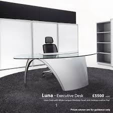 Office Furniture Glass Desk Glass Desks Office Desks Executive Desks