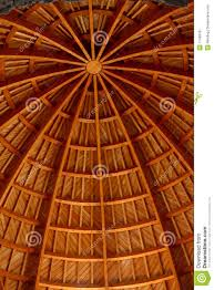 wooden construction a cupola stock image image 11489781
