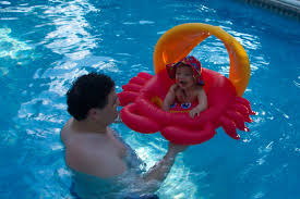 are chlorine pools safe for babies