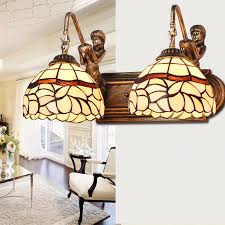 2 light wall light tiffany style wall sconces lightsinhome com