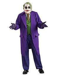 mens the joker deluxe rubies halloween new batman film fancy