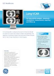 ge healthcare lung vcar user manual 2 pages