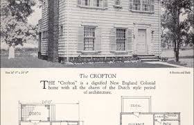 colonial home builders colonial revival house plan the crofton home builders catalog brick