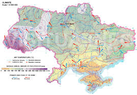 Mediterranean Climate Map Ukrainian Land Agricultural Land Climate Of Ukraine