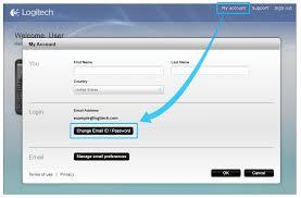 harmony 650 manual password reset