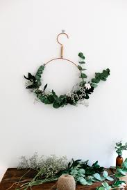 Homemade Christmas Wreaths by 15 Unique Natural Holiday Wreaths You U0027ll Love Modern Christmas