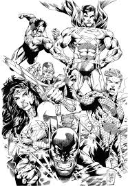 181 best comic book coloring pages images on pinterest