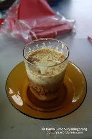 Teh Telur teh talua teh telur sumatera barat obi surya