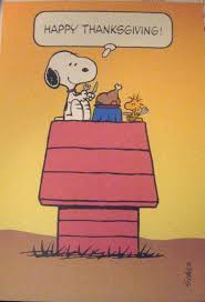 thanksgiving snoopy and the peanuts