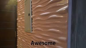 ecoste 3d wall panels unbelievable applications design