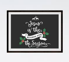 jesus is the reason for the season seeds of fatih