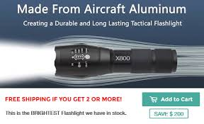 Brightest Flash Light Military Taclight 75 Discount On Brightest Led Light