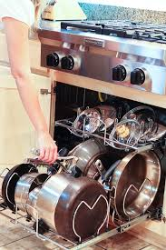 kitchen cabinet organizers for pots and pans kitchen cabinet pots and pans organization kevin amanda food