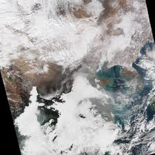 haze shrouds eastern china nasa