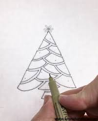 embroidered christmas tree pattern and tutorial sew what alicia