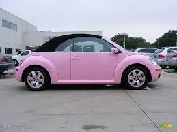 volkswagen beetle pink convertible 2006 custom pink volkswagen new beetle 2 5 convertible 848006