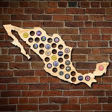 Beer Map Beer Cap Map Of Mexico