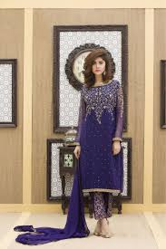 a navy blue hand embroidery party dress exclusive online boutique
