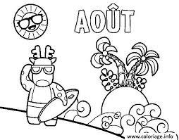 coloriage vacances ete dessin à imprimer gratuit
