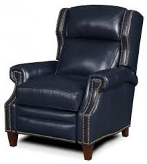 Blue Reclining Sofa by Navy Leather Recliner Foter