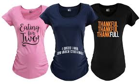s thanksgiving maternity t shirts groupon