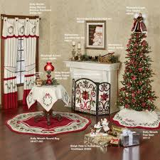 Christmas Rug Celyn Decorative Holiday Fireplace Screen